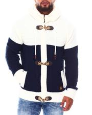 Light Jackets - Heavy Gauge Contrast Sweater (B&T)-2690248