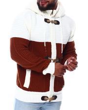 Light Jackets - Heavy Gauge Contrast Sweater (B&T)-2690253