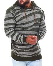 Hoodies - Tiger Knit Hoodie Sweater (B&T)-2690243