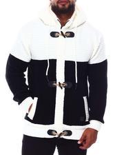 Light Jackets - Heavy Gauge Contrast Sweater (B&T)-2690258
