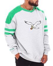Mitchell & Ness - Philadelphia Eagles Fleece Crewneck (B&T)-2690349
