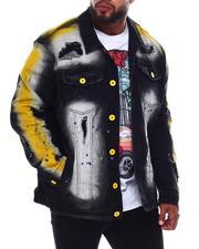 Outerwear - Paint Splash Denim Jacket (B&T)-2690376