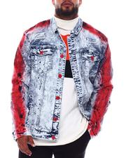 Outerwear - Paint Splash Denim Jacket (B&T)-2690391