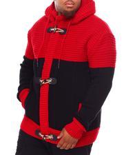 Light Jackets - Heavy Gauge Contrast Sweater (B&T)-2690799