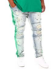 Jeans & Pants - Paint Splash Denim Jeans (B&T)-2690815