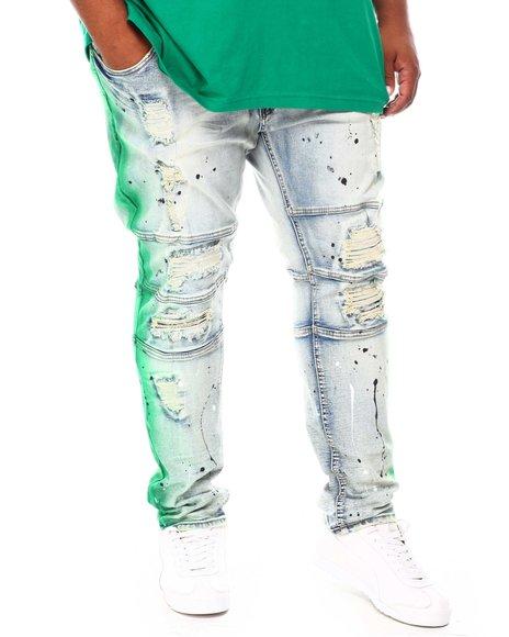 Makobi - Paint Splash Denim Jeans (B&T)