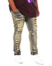 Makobi - Shredded Denim Jean (B&T)-2690907