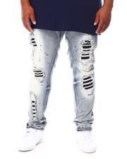 Makobi - Shredded Denim Jean (B&T)-2690920