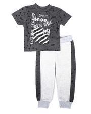 Sets - 2 Pc Future Legend Tee & Two Tone Jogger Pants Set (Infant)-2691093