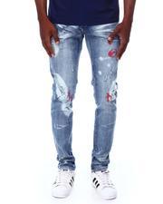 Buyers Picks - Ripped Jeans w Paint Brush Skinny Jean-2691449