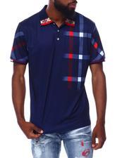 Buyers Picks - Plaid Shoulder Polo-2691826
