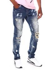 SMOKE RISE - Slim Fit Distressed Jean-2691832