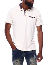 Buyers Picks - Plaid Collar pocket front polo-2691866