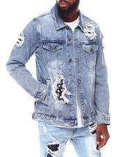 Buyers Picks - Bandana Patchwork Denim Jacket-2691947