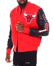Pro Standard - Chicago Bulls Logo Varsity Jacket-2691571