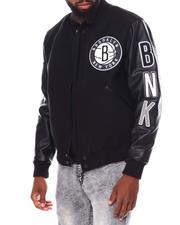 Pro Standard - Brooklyn Nets Logo Varsity Jacket-2691589