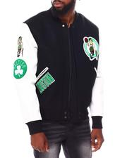 Pro Standard - Boston Celtics Logo Varsity Jacket-2691607