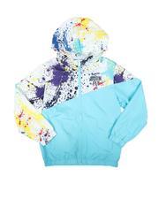 Outerwear - Splatter Blocked Print Nylon Jacket (8-20)-2691149