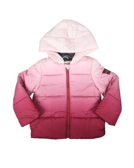 Calvin Klein - Ombre Hooded Puffer Jacket (4-6X)
