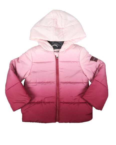 Calvin Klein - Ombre Hooded Puffer Jacket (7-16)