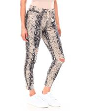 Women - Twill Destructed Printed Jogger-2692080