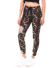 Women - Twill Destructed Printed Jogger-2692090