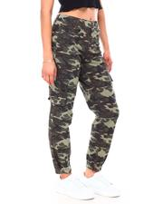 Women - Twill Destructed Printed Jogger-2692095