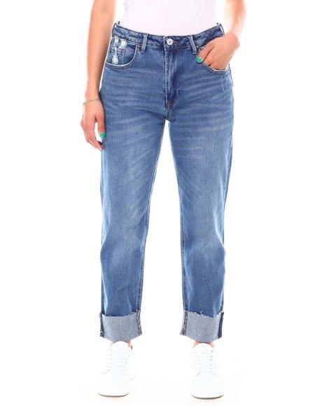 Fashion Lab - Roll Cuff Jeans