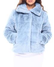 """Fall-Winter - NVLT 23"""" Faux Fur Puffer Jacket-2692807"""