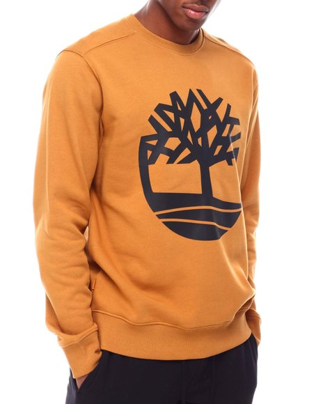 Timberland - CORE TREE LOGO CREW NECK SWEATSHIRT