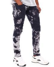 Copper Rivet - 3D Side Pocket utility Pants with Tie Dye-2693891