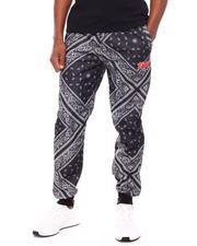 Jeans & Pants - Fresh Bandana Print Jogger-2693561