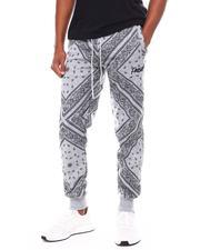 Jeans & Pants - Fresh Bandana Print Jogger-2693567