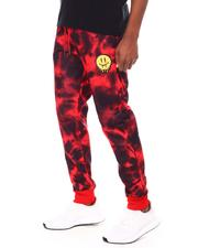 Jeans & Pants - Tie Dye Dripping Smiley Face Jogger-2693591