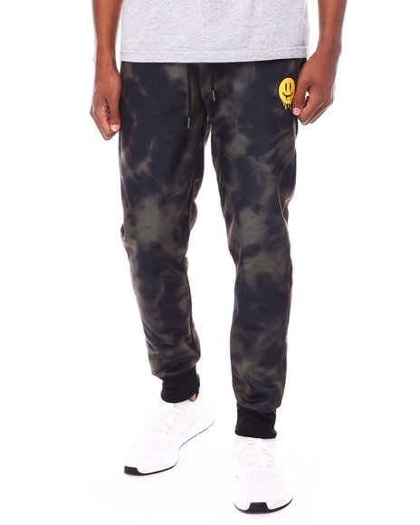 Buyers Picks - Tie Dye Dripping Smiley Face Jogger