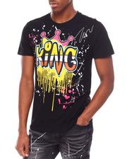 SWITCH - King Embroidered Patch Tee-2693381