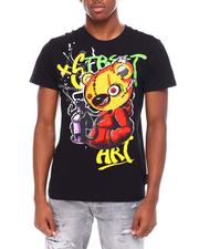 SWITCH - Street art bear- embrod. Chenille patch Tee-2693399