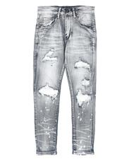 Arcade Styles - Distressed Stretch Jeans (8-20)-2694198