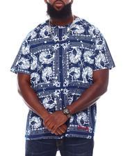 Hustle Gang - Horoz All Over Print Knit T-Shirt (B&T)-2692281
