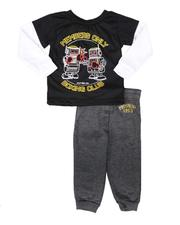 Boys - 2 Pc Boxing Club 2Fer Long Sleeve T-Shirt & Jogger Pants Set (2T-4T)-2693821