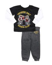 Boys - 2 Pc Boxing Club 2Fer Long Sleeve T-Shirt & Jogger Pants Set (8-20)-2693988