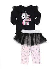 La Galleria - 2 Pc Bodysuit and Tutu Skirted Pants Set (Infant)-2694460