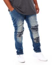 Men - Distressed Moto Jeans (B&T)-2692576