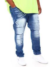 Men - Moto Denim Jeans (B&T)-2693222