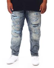 Men - Ripped Jeans With Backing (B&T)-2694533