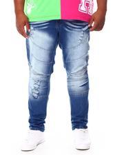 Men - Moto Denim Jeans (B&T)-2692727