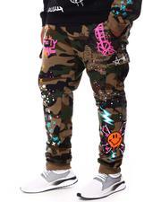Men - Doodle Cargo Pocket Fleece Joggers (B&T)-2692854