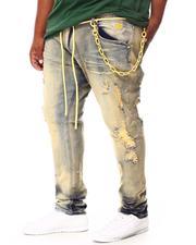 Men - Shredded Jeans (B&T)-2693123