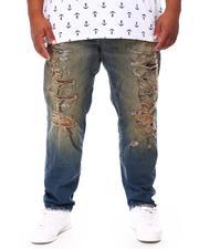 Men - Distressed Denim Jeans (B&T)-2695463