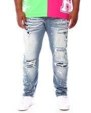 Men - Distressed Denim Jeans (B&T)-2695509